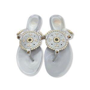 Jack Rogers Georgica Jelly Flat Sandals